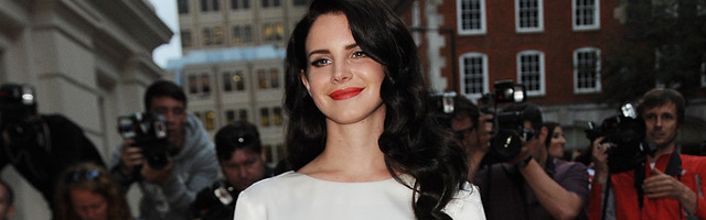 Lana Del Rey Totally Bare For British GQ Woman Of Year